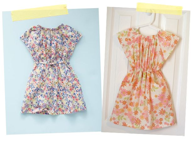 little girl dresses - want for big girls like me
