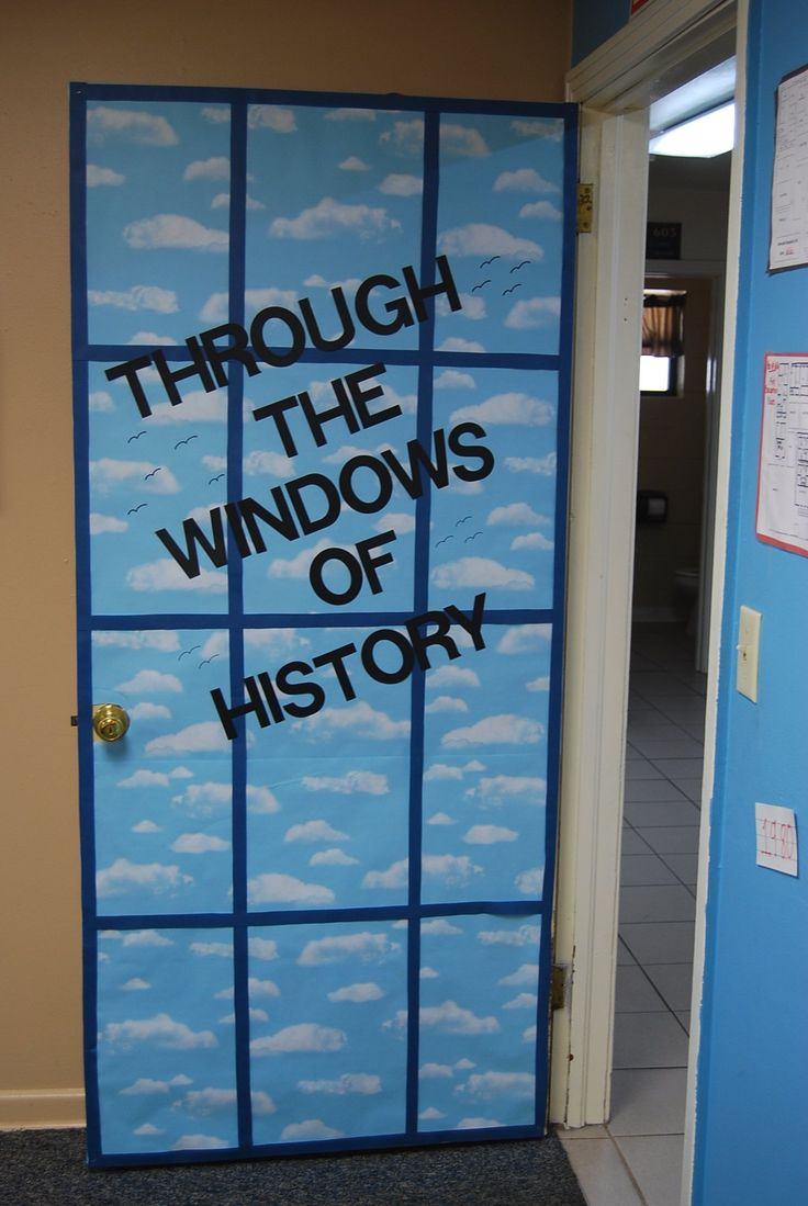 Classroom Window Design ~ Best classroom doors images on pinterest