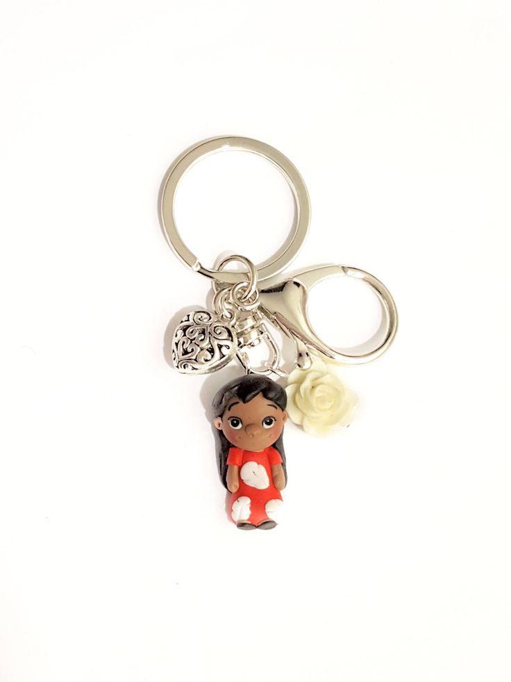 Lilo keyring Disney inspired. Disney accessories. Disney ...