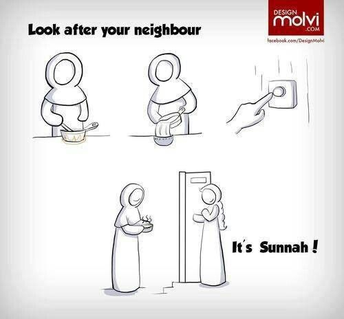 Look after you neighbour.