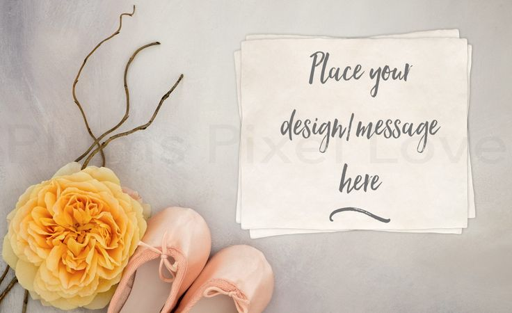 Styled Stock Photography mock up, instagram, Overlay text, nursery, yellow rose, ballet slippers, watercolour, copy space, feminine SSP71 by plumspixellove on Etsy