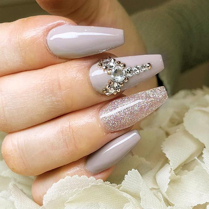 Coffin Nail Designs Update Your Trendy Compilation Glaminati Com Mauve Nails Coffin Nails Designs Acrylic Nail Shapes