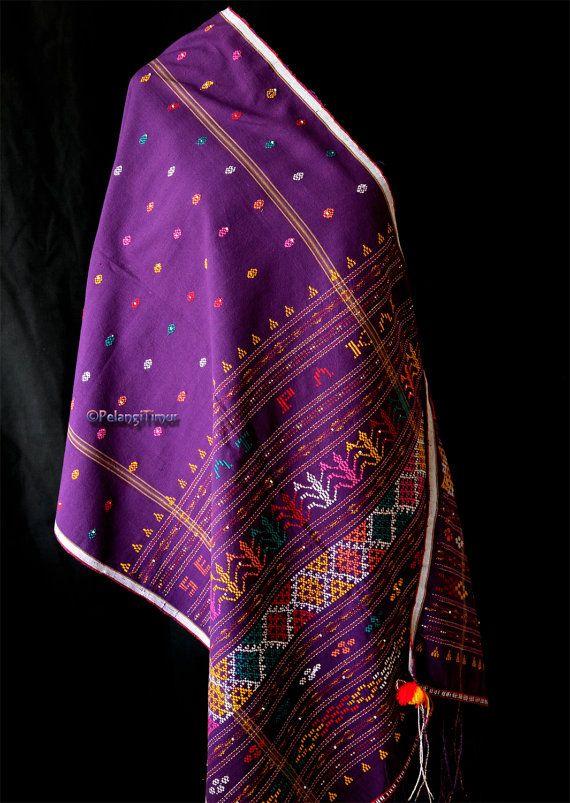 Genuine Vintage Ulos Batak Sadum very high by PelangiTimur, £74.00