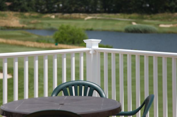 17 Best Images About Lovely Vinyl Porch And Deck Railing Designs On Pinterest Metal Stair