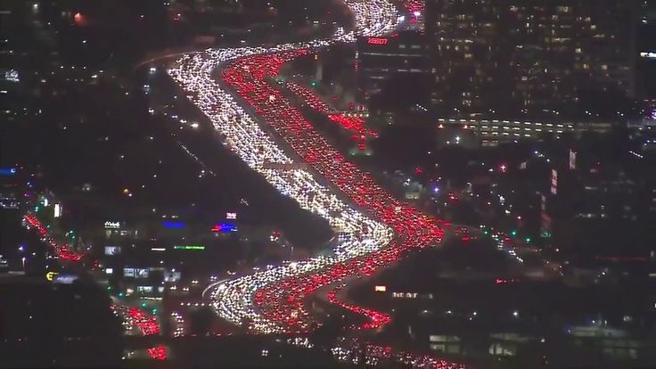 Los Angeles has worst traffic congestion (again)