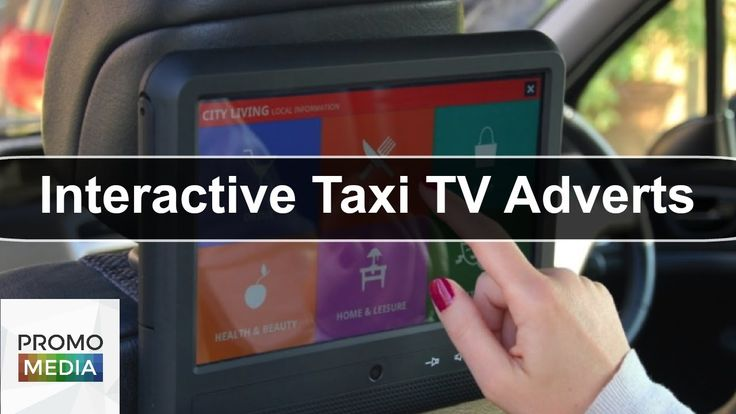 Interactive Taxi TV Adverts