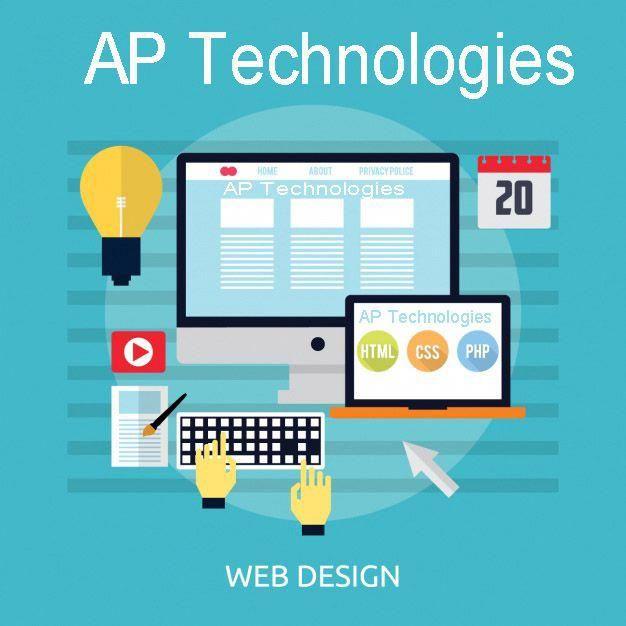 Ap Technologies Work On Web Development Web Graphic Designing Work Websitedesign Development Web Design Training Web Design Company Web Development Design