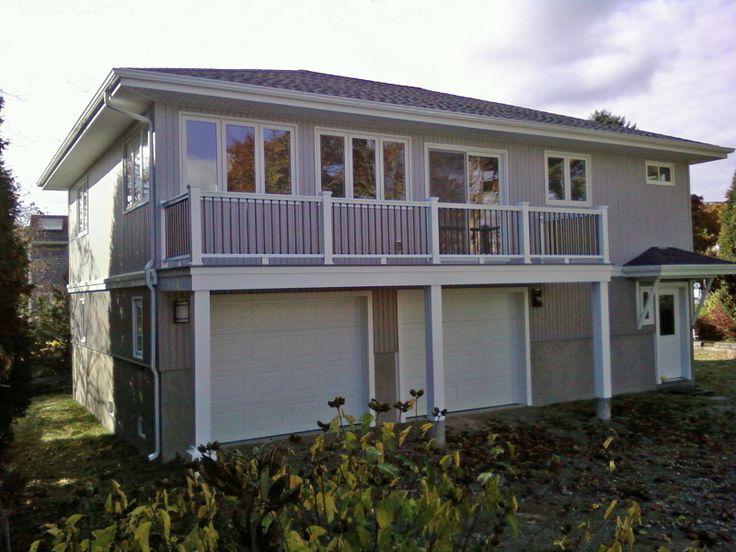 12 best roof deck over garage images on pinterest for Deck over garage designs
