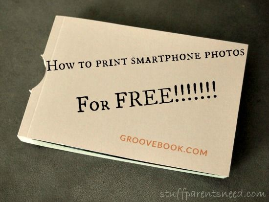 how to print pictures from your phone with groovebook