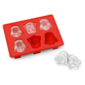 Star Wars Darth Vader Ice cube tray - $9.99. Home & Office :: Kitchen Tech :: ThinkGeek. Lara got this for Mother's Day