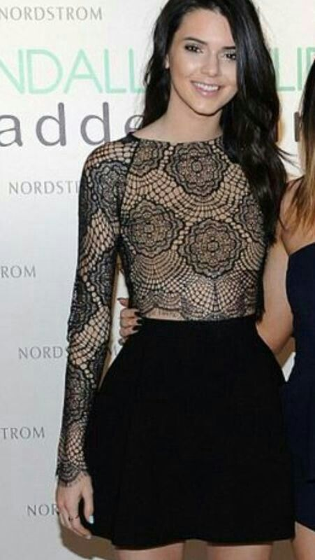 Kendal Jenner..How fab is this look?? Available to buy from Love ♥