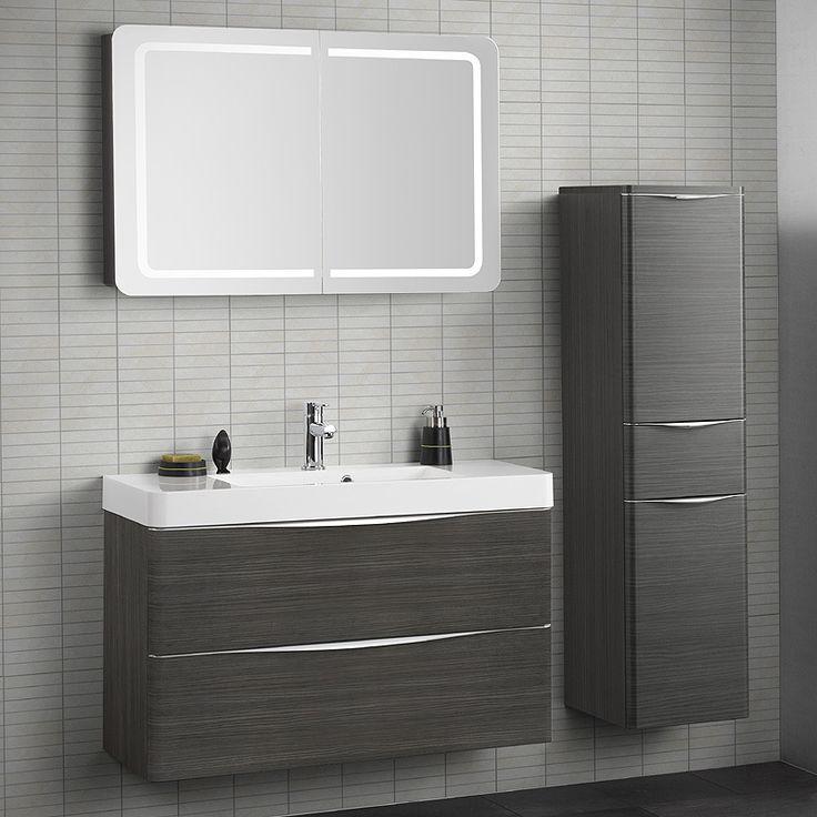 Badezimmer Waschplatz Set LUGIO256 Hacienda braun Jetzt