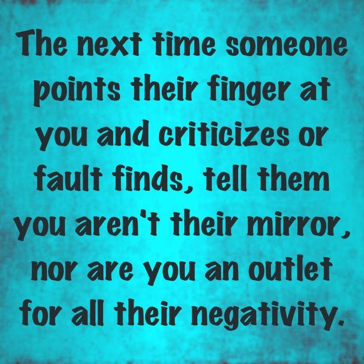 Negative criticizers