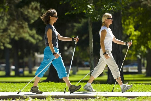 Walking Poles -  Burn More Calories, Feel Less Exertion: Nordic Walking