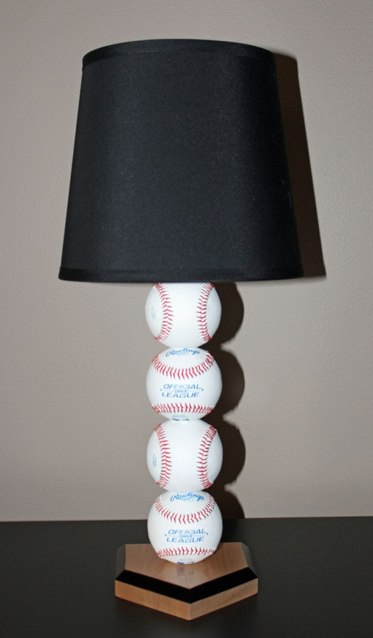 Best 25+ Baseball lamp ideas on Pinterest | Boys baseball bedroom ...