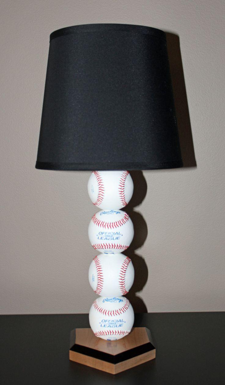 Best 25 baseball lamp ideas on pinterest baseball decorations grand slam baseball lamp sporty beds geotapseo Image collections