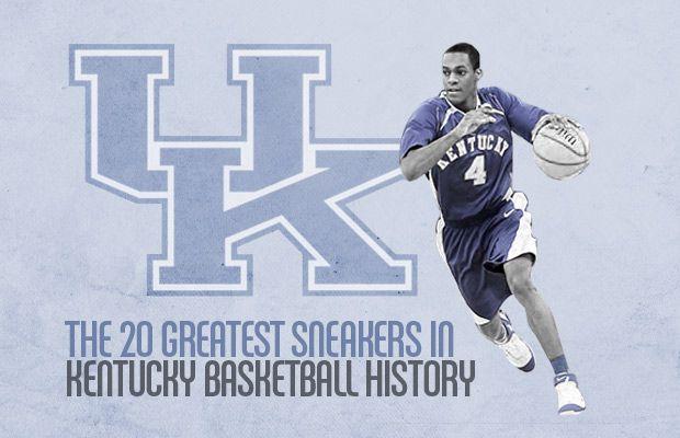 20 Greatest Sneakers in Kentucky Basketball History.