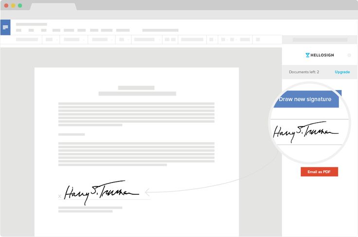 Sign documents online | HelloSign