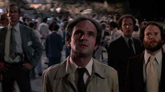 Close Encounters of the Third Kind (1977) directed by Steven Spielberg