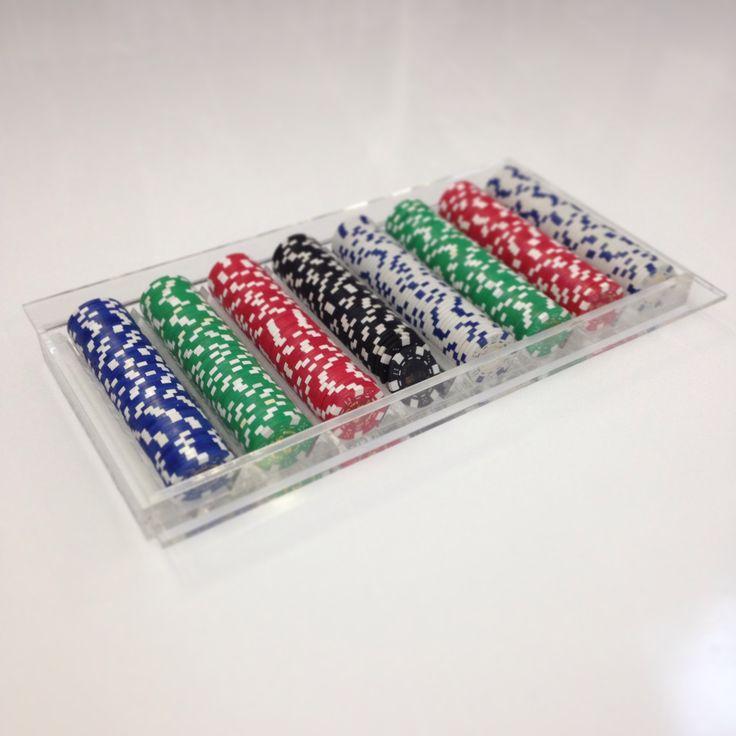 Contenitore porta fiches da poker