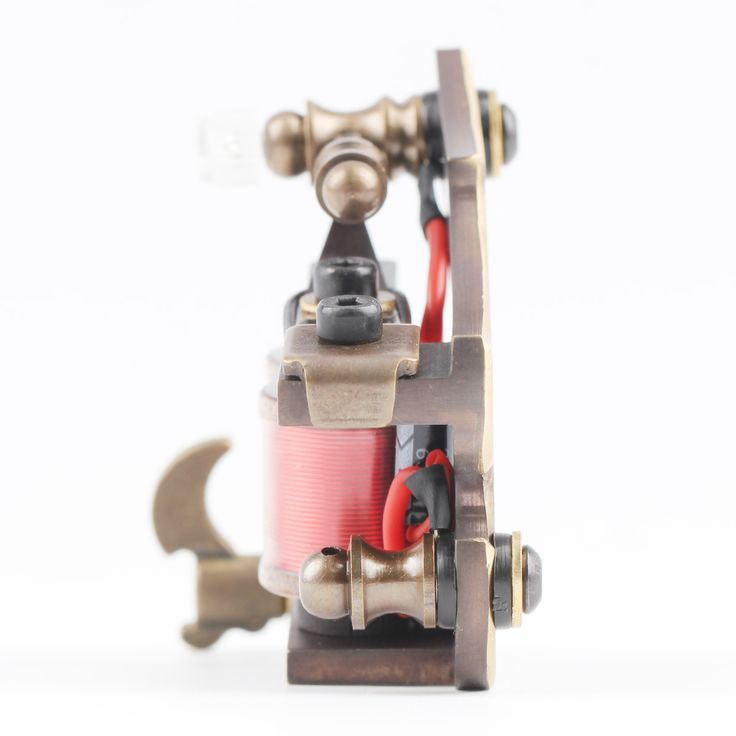 OCOOCOO T150A Pure Copper Shader Tattoo Machine Perfect Carving 10000 R/Minute