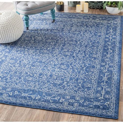Found It At Wayfair   Freemansburg Dark Blue Area Rug