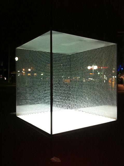 mannheim holocaust memorial  Terrific exhibit concerning a horrific event.