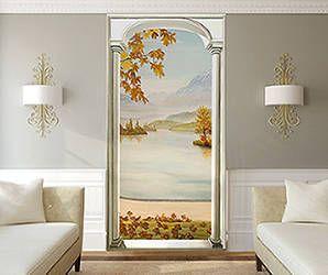 17 best ideas about trompe l oeil porte on pinterest boiserie blanche trompe l oeil mural et. Black Bedroom Furniture Sets. Home Design Ideas