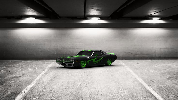 Checkout my tuning #Plymouth #HemiCuda 1971 at 3DTuning #3dtuning #tuning