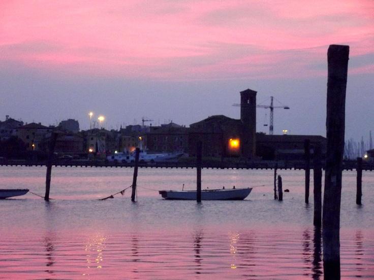 Chioggia: colours at sunset...