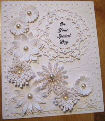 Keep meaning to try white on white ... don't have all the same punches but could do a variation ... must try!
