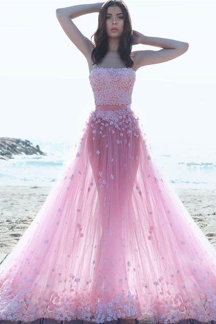 Las mejores +100 imágenes de Vestidos Largos en Pinterest | Baile de ...