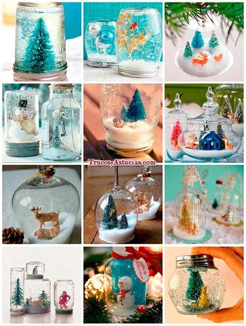 Un ejemplo de unos bonitos adornos para navidad