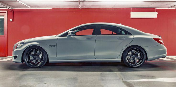 Seven-11 - Mercedes CLS 63 AMG mit geschmiedeten, 3-teiligen Felgen Typ 6Sporz² in 10,0+12,0x20 Zoll sowie elektromechanischem Spezial Gewindefahrwerk by Wheelsandmore