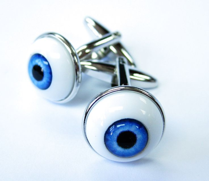 Tailor B 3D Eyeball Cufflinks Eye Ball Cuff Links Halloween Doctor MD Eye Specialist Gemelos 011211-1. Cufflinks. Cuff Links. Gemelos. Manschettenknöpfe. boutons de manchette.