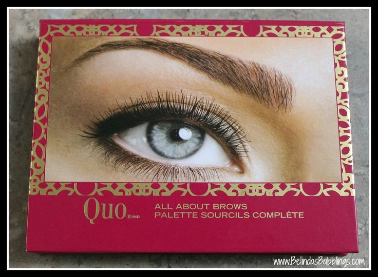 Quo All About Brows