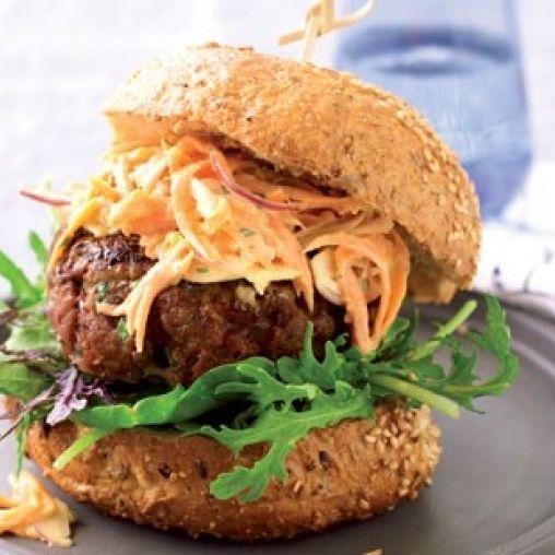 Thai beef burger | Healthy Food Guide
