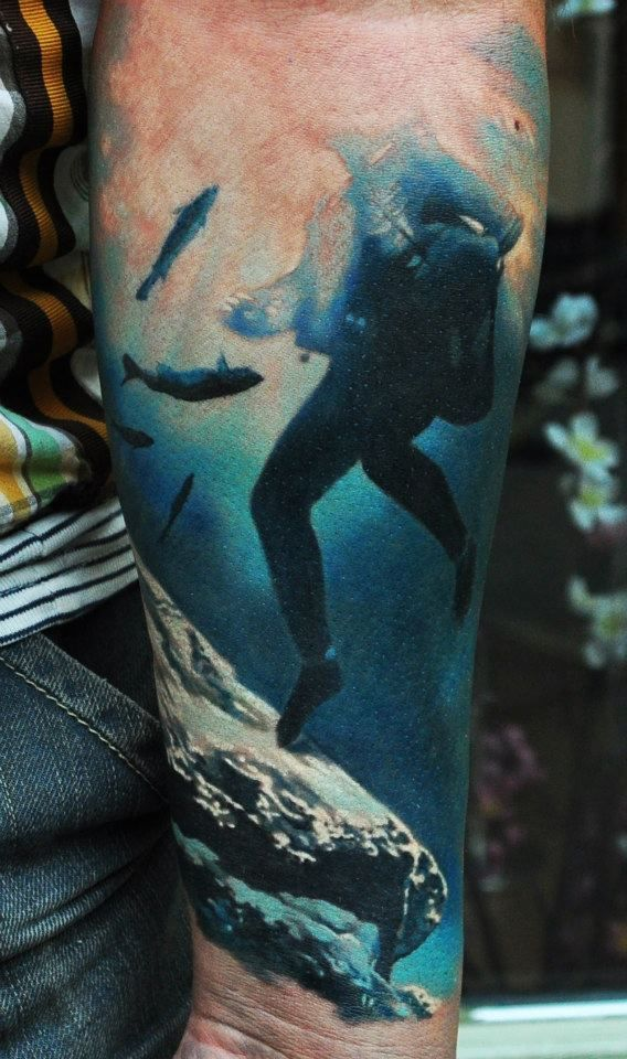 best 25 scuba tattoo ideas on pinterest diving tattoo sea tattoo and scuba diving tattoo. Black Bedroom Furniture Sets. Home Design Ideas