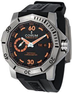 Corum Admirals Cup Deep Dive Automatic Black Dial Mens Watch 947950040371AN15
