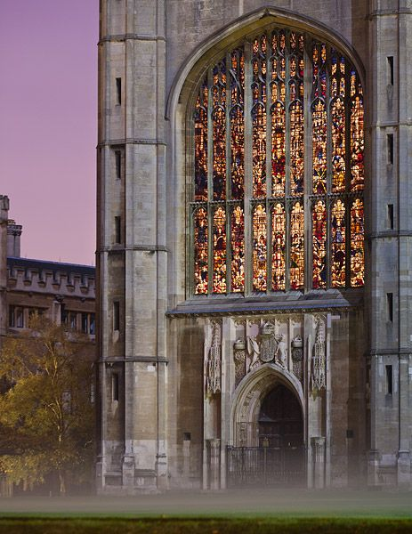 """Cambridge in Color  """"Door to King's College Chapel"""""""