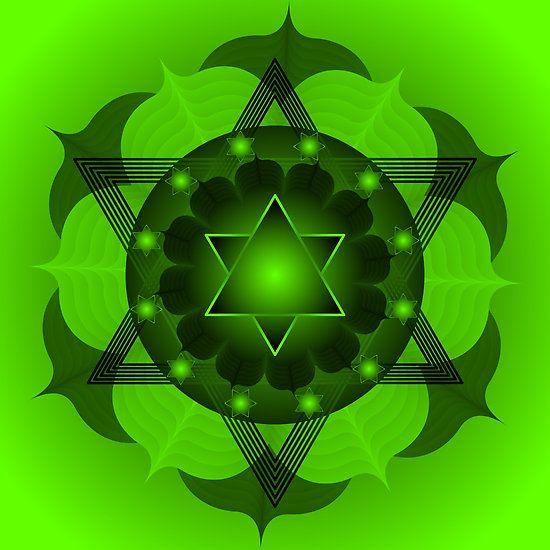 Mandala  Anahata 4th Chakra by shoffman