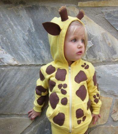 Giraffe Costume DIY @Michaela Scott