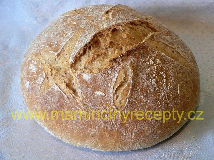Bezlepkový křupavý chleba