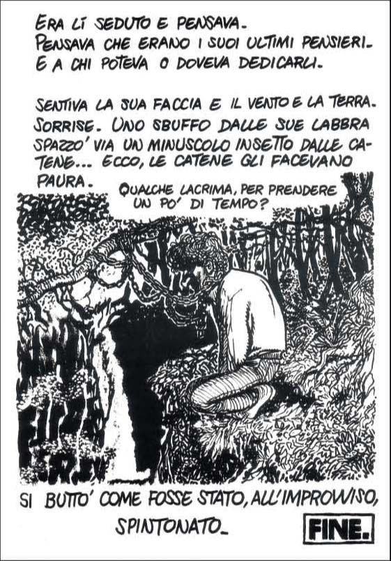 Andrea Pazienza, Gli ultimi giorni di Pompeo.