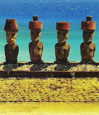 Anakena, Rapa Nui, Chile   Amazing Capture!