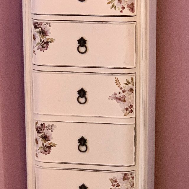 Furniture Decals Chatellerault Roses By Redesign With Prima Etsy In 2020 Rub On Transfers Mirror Decal Flower Wall Decals