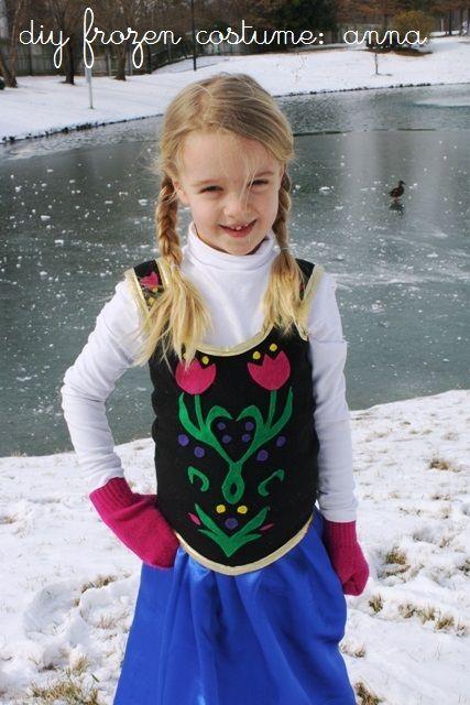 Unique Anna Costume Ideas On Pinterest Princess Anna Frozen - Mother makes daughters dreams come true incredible disney costumes