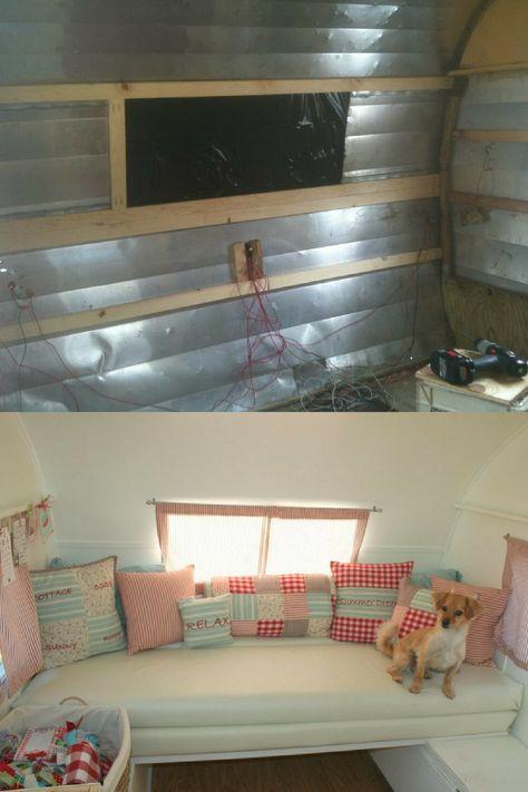 Awe Inspiring Vintage Camper Water Damage Repair Steps To Expect Gypsies Thieves Wiring Database Redaterrageneticorg