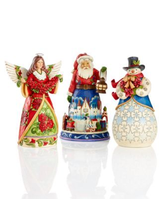 Jim Shore Christmas Collectible Figurines Collection | macys.com