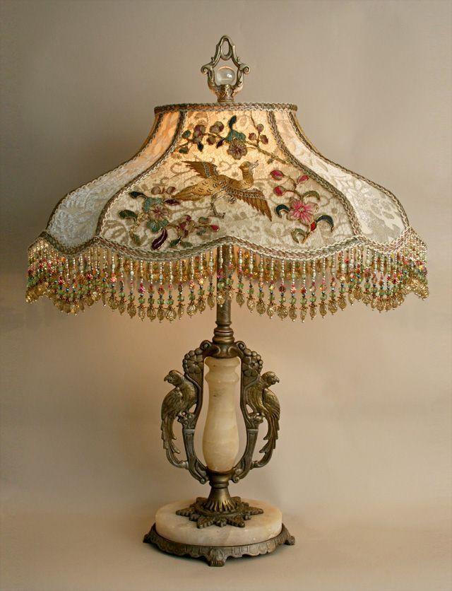 25 Best Ideas About Antique Table Lamps On Pinterest